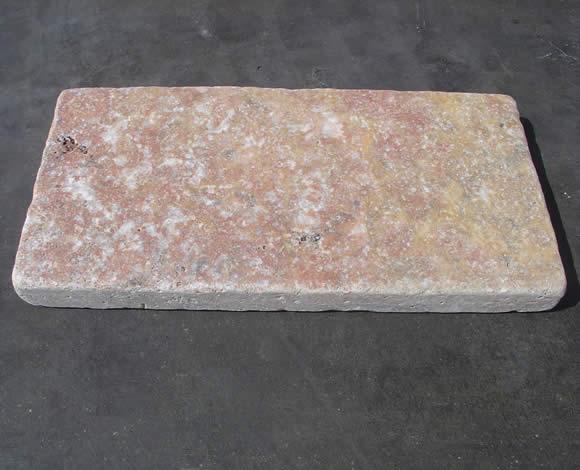 Traverten bahçe zemin taşları